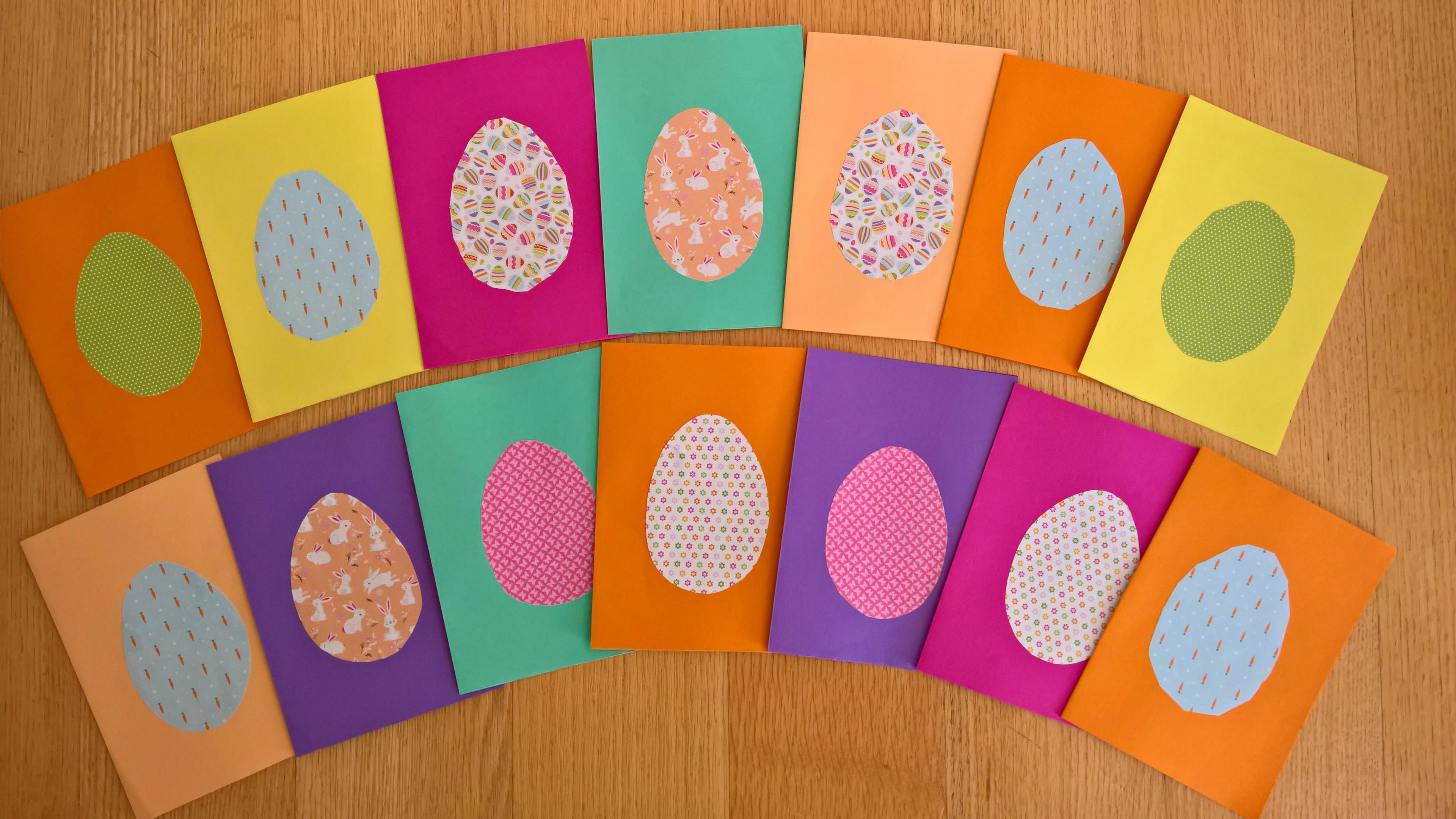 Πασχαλινές κάρτες με αυγά