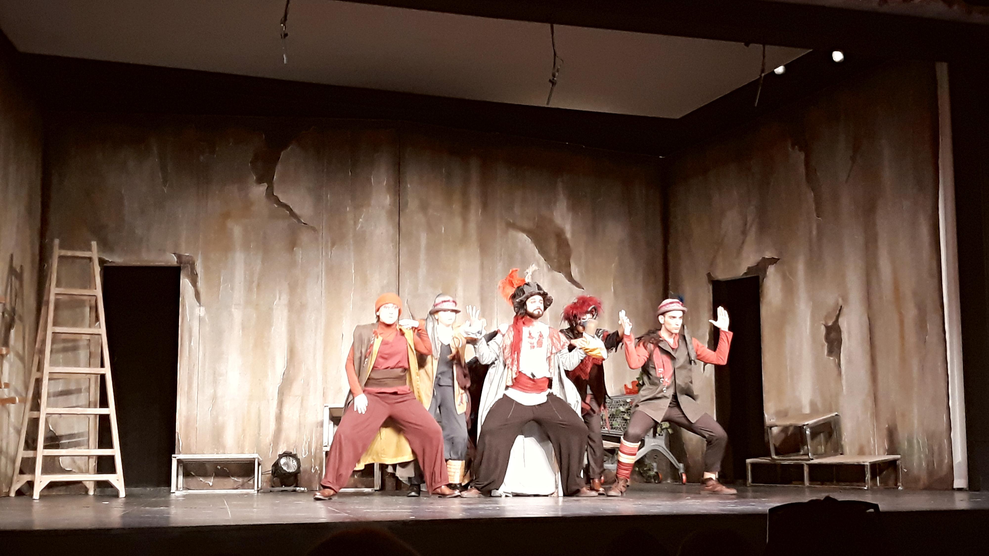 Θέατρο Πήτερ Παν Μαγικές Σβούρες