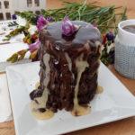 κέικ τριπλής σοκολάτας Άκης Πετρετζίκης