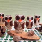 κουκουβάγιες από φελλό
